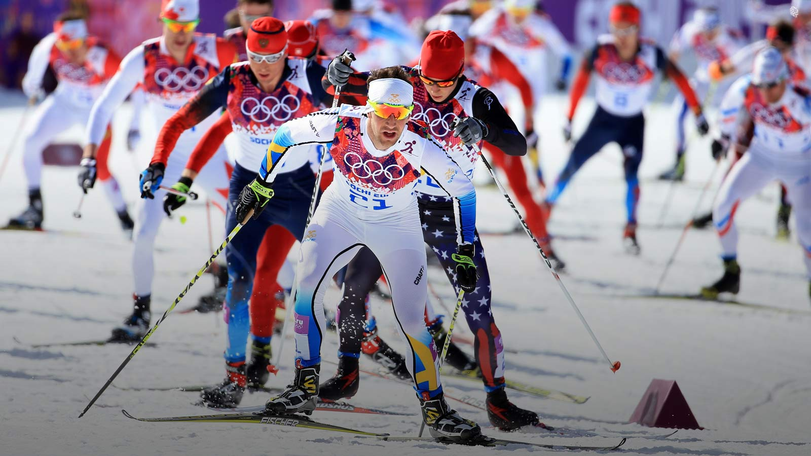 Лыжные гонки олимпиада 2014 смотреть видео онлайн повтор